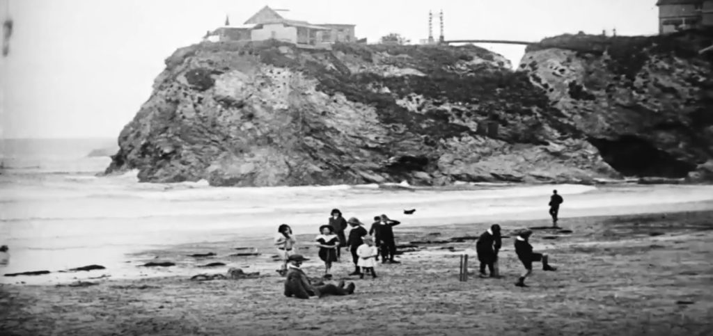Early Newquay Film B&W