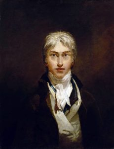 J M W Turner selfportrait as a young man