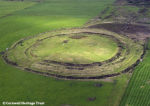 Castle-an-Dinas aerial view [CHT]