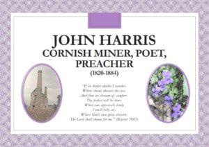 HHC - Truro College Exhibition John Harris Cornish Poet