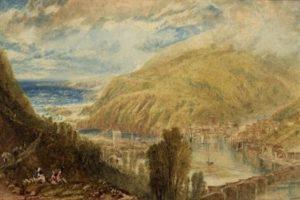 J M W Turner - East & West Looe