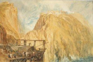 J M W Turner - Tintagel Castle 1815
