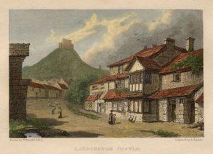 Launceston Castle - 1832