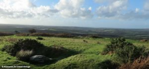 View from Castle an Dinas