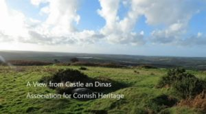 View from Castle an Dinas video