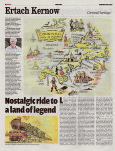 Truro Voice - Ertach Kernow Nostalgic Ride to a Land of Legend