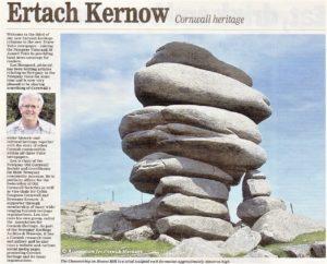 Quick link to Ertach Kernow Truro Voice newspaper articles