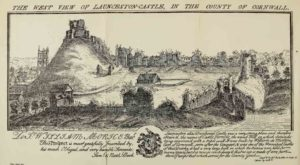 West view of Launceston Castle by Buck Bros