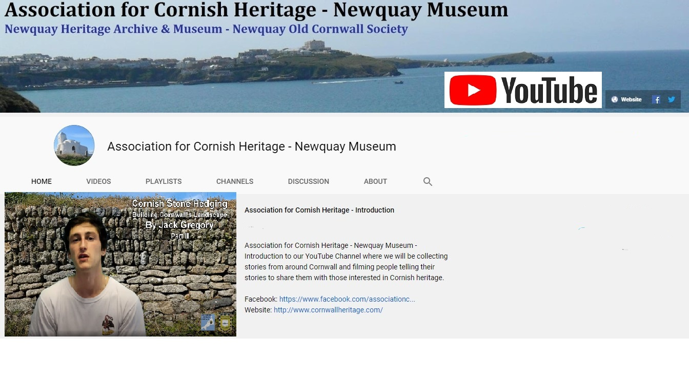 YouTube Channel Original and Cornish Playlist Videos