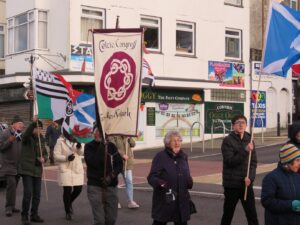 Celtic Congress Cornwall - Newquay St Piran's Festival Parade 2020