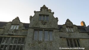 Close up features of Trerice Manor