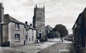 Egloskerry Village & Church