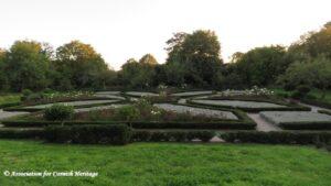 Elizabethan Knot Garden Trerice