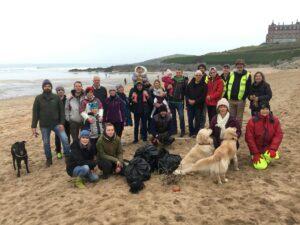 Fistral Beach Clean February 2020