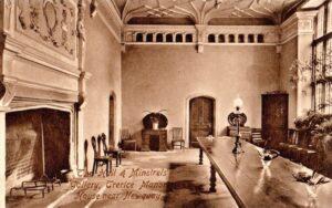 Hall & Minstrels Gallery - Hartnolls