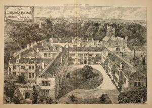 Lanhydrock 1885 after fire rebuilding