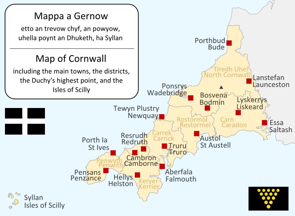 Mappa a Gernow