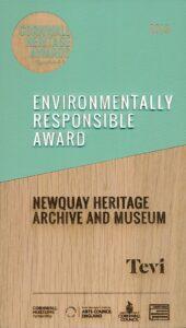 Cornwall Heritage Award 2019 - Environmental