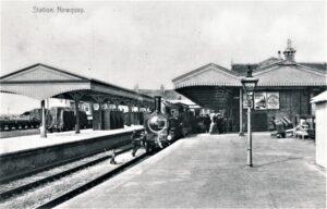Newquay Railway Station C1905