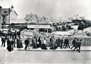 Newquay Railway Station c1903