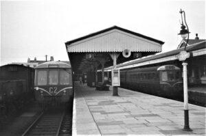 Newquay Railway Station c1960