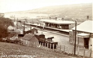 Perranporth Railway Station c1905 [GWR Chacewater-Newquay]
