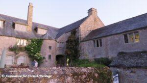 Rear of Trerice Manor, Newquay, Cornwall