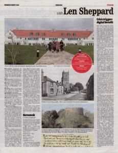 Ertach Kernow – The place names that help unlock our past history – Truro Voice 05082020