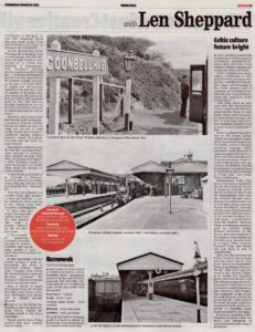 Ertach Kernow - Backtracking to our Railway Past