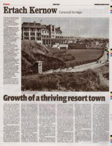 Ertach Kernow - Growth of a thriving resort town Bude