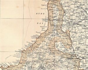 Bude - Map Blacks Guide 1885