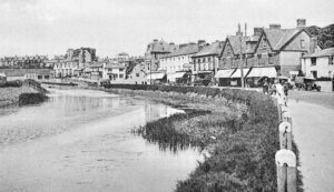 Bude - The Strand and River Neet 1930's