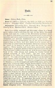 Bude - Thorough Guide 1885