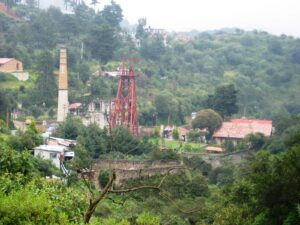 Cornish mine in Mineral del Monte, Hidalgo, Mexico by Thelmadatter