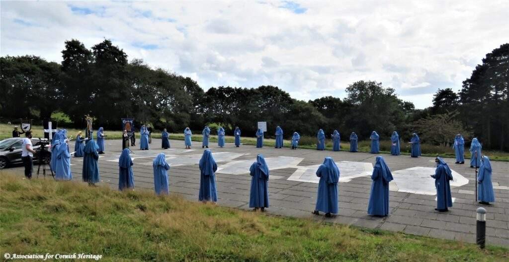 Gorsedh Kernow Bardic Ceremony Lys Kernow 2020