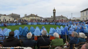 Gorsedh Kernow Bardic Celebration in the Plen an Gwari at St Just 2019