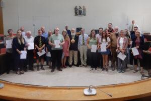 Cornish langage Grade 1 candidates 2019