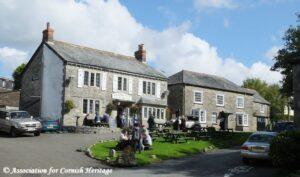 The Pub at Blisland, Cornwall