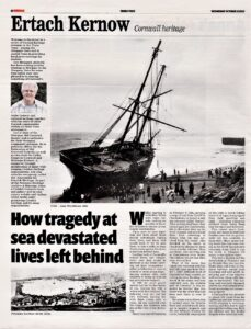 Ertach Kernow- How Tragedy at sea devestated lives left behind
