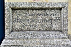 Foundation Stone Passmore Edwards Free Library Truro