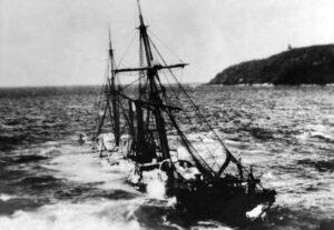 Malta wrecked Botallack Head, St Just - 1889