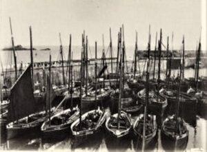 Mousehole Harbour c1880