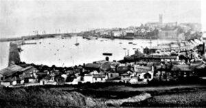 Penzance Harbour 1870's