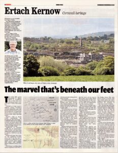 Ertach Kernow- Marvel that's beneath our feet (Great County Adit)