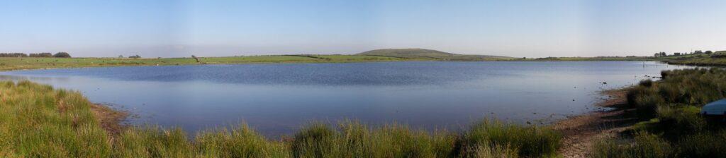 Dozmary Pool - panoramic view