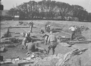 Excavation, Magor Farm Roman Villa - Morab Library
