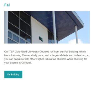 Fal Building Truro College