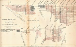 Great Wheal Vor 1912 cross section