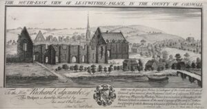 Lostwithiel Palace engraving 1734