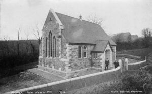 Early Photo of Mawla Chapel (Photo: courtesy Clive Benney)